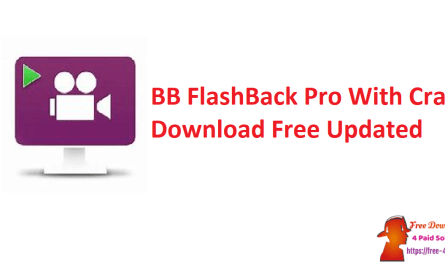 BB FlashBack Pro With Crack Download Free Updated