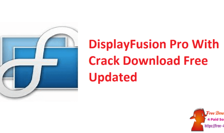 DisplayFusion Pro With Crack Download Free Updated