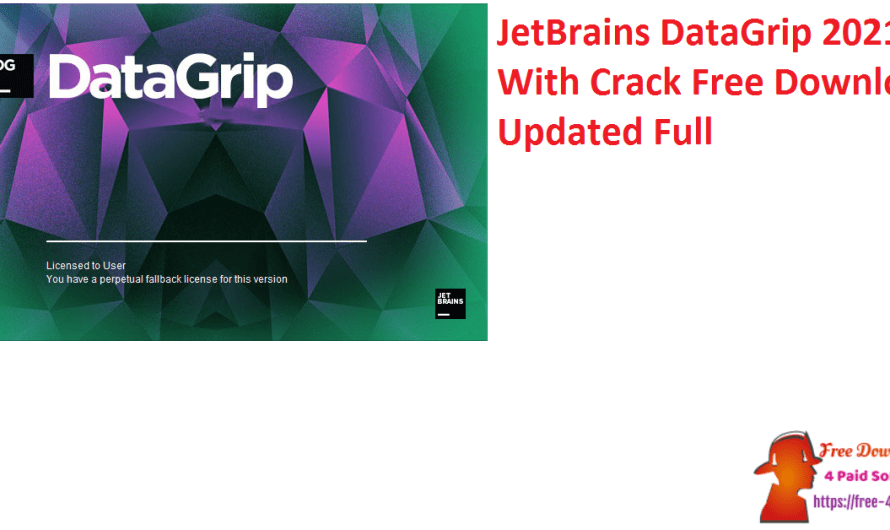 JetBrains DataGrip 2021.1 With Crack Free Download Updated Full