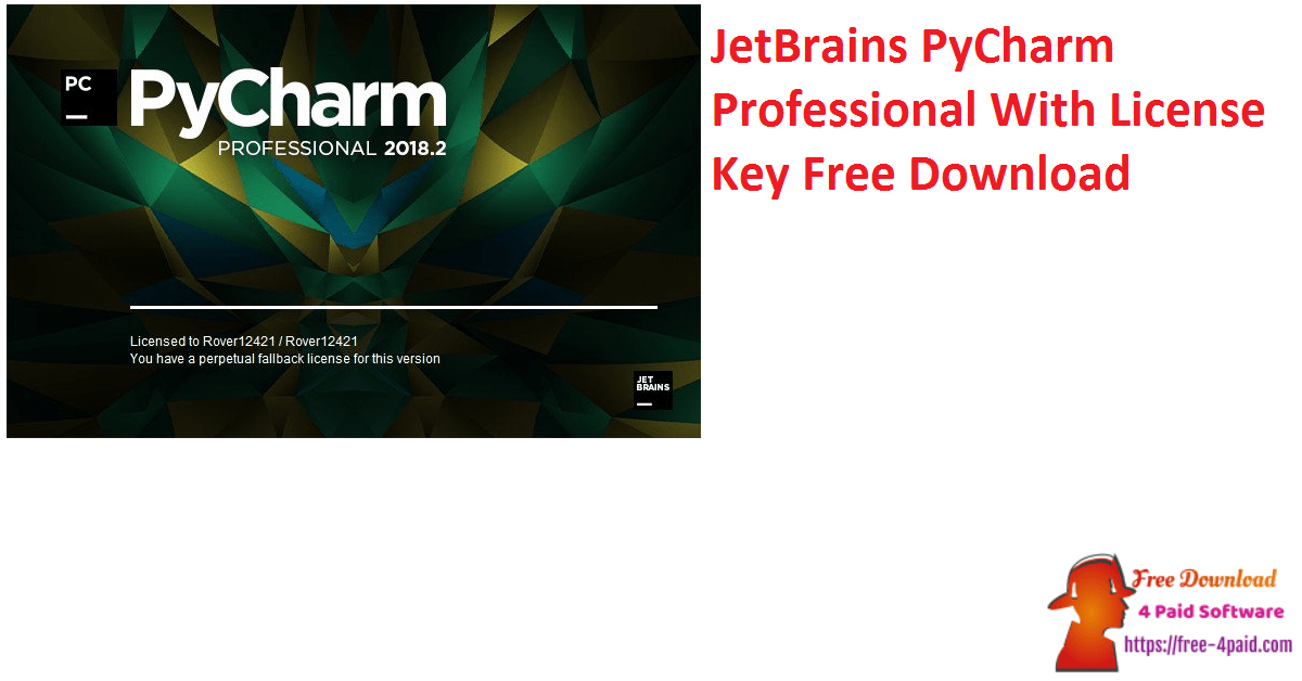 JetBrains PyCharm Professional With License Key Free Download