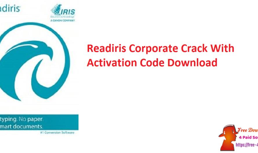 Readiris Corporate 17.4 Crack Build 95 With Activation Code Download