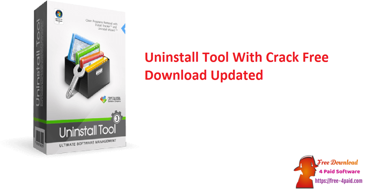 Uninstall Tool With Crack Free Download Updated