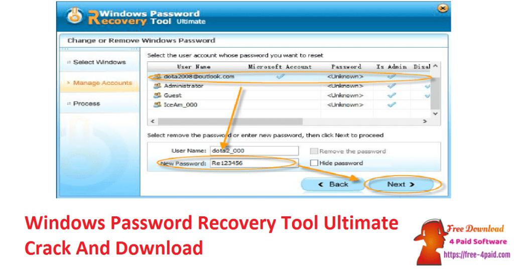 Windows Password Recovery Tool Ultimate Crack And Download