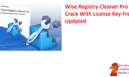 Wise Registry Cleaner Pro Crack With License Key Free Updated