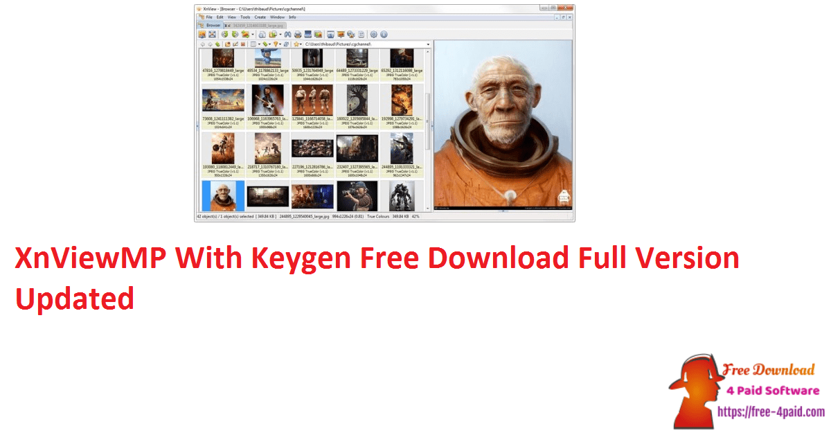 XnViewMP With Keygen Free Download Full Version Updated