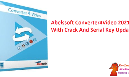 Abelssoft Converter4Video 2021 With Crack And Serial Key Updated