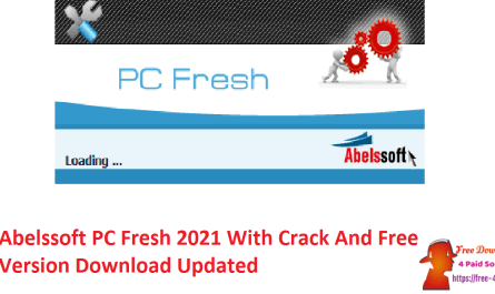 Abelssoft PC Fresh 2021 With Crack And Free Version Download Updated