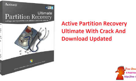 Active Partition Recovery Ultimate With Crack And Download Updated