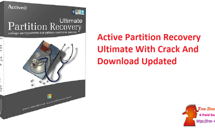Active Partition Recovery Ultimate 21.0.3 Crack Download [Updated]