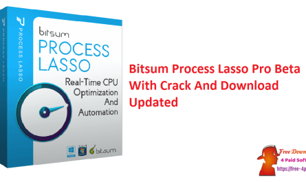 Bitsum Process Lasso Pro Beta With Crack And Download Updated
