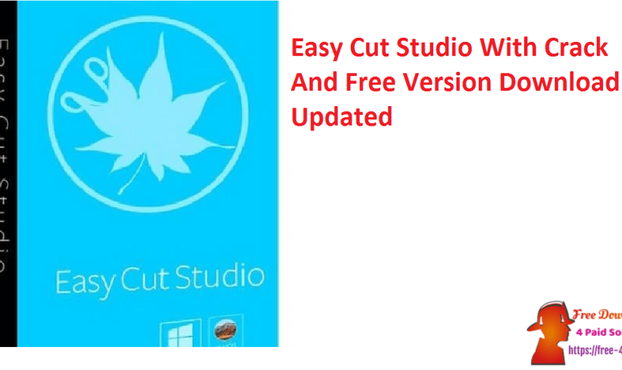 Easy Cut Studio 5.0.14 With Crack And Free Version Download [Updated]
