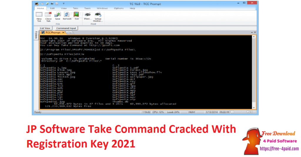JP Software Take Command Cracked With Registration Key 2021