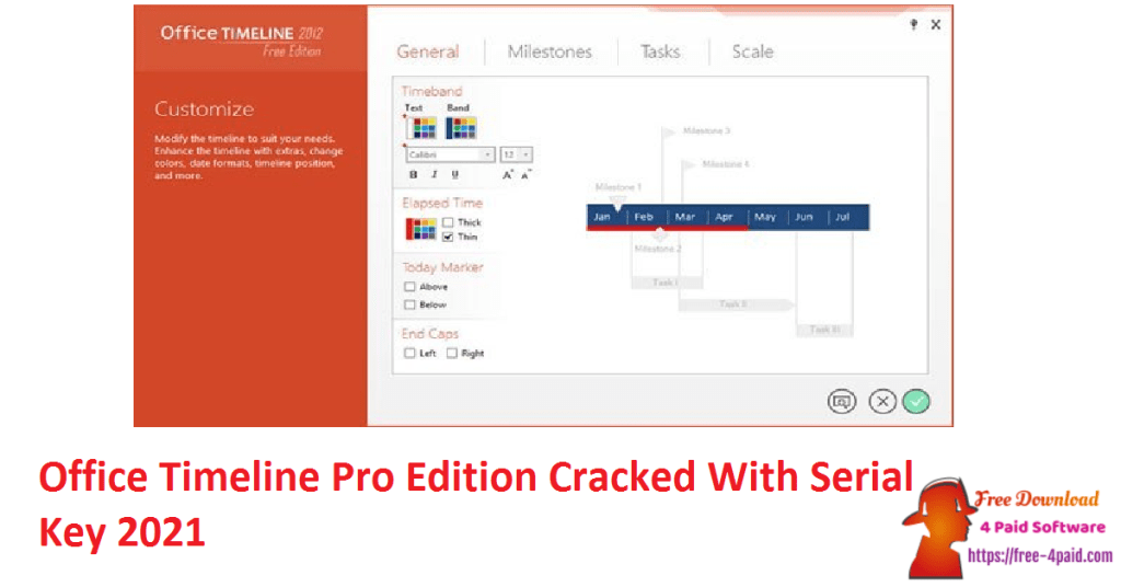 Office Timeline Pro Edition Cracked With Serial Key 2021