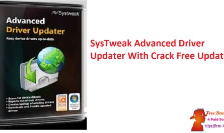SysTweak Advanced Driver Updater With Crack Free Updated