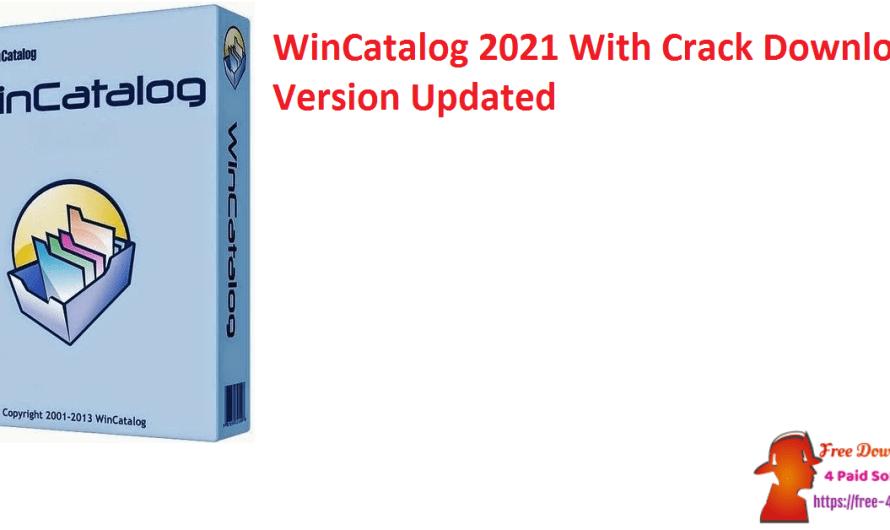 WinCatalog 4.1.323 Crack Download Version [Updated]