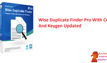 Wise Duplicate Finder Pro With Crack And Keygen Updated