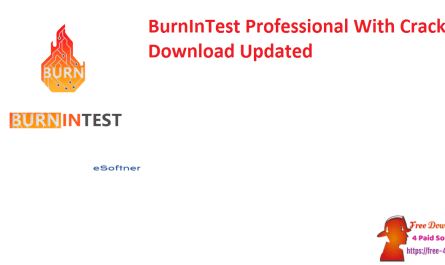 BurnInTest Professional With Crack Download Updated