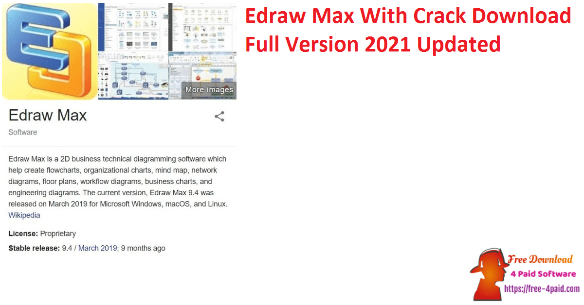 Edraw Max With Crack Download Full Version 2021 Updated