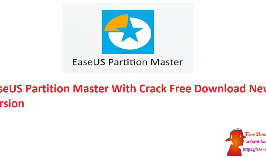 EaseUS Partition Master 16.0 With Crack Free Download New Version