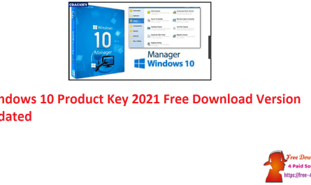 Windows 10 Product Key 2021 Free Download Version Updated