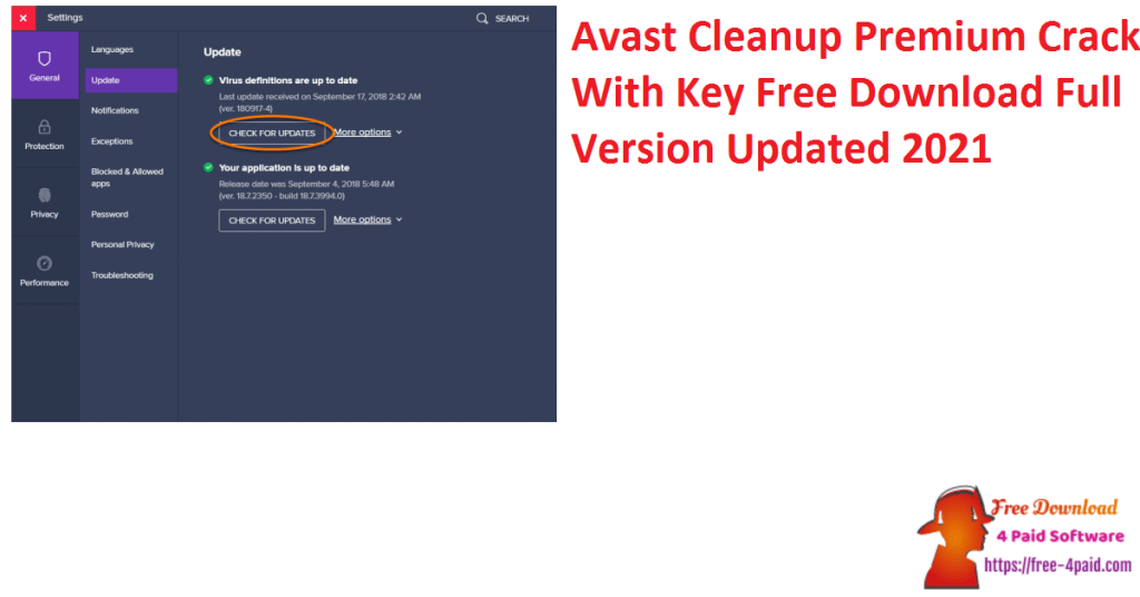 Avast Cleanup Premium Crack With Key Free Download Full Version Updated 2021