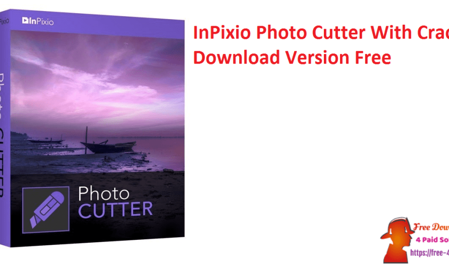 InPixio Photo Cutter 10.5.7633.20671 With Crack Download Version Free