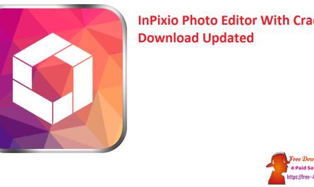 InPixio Photo Editor With Crack Download Updated