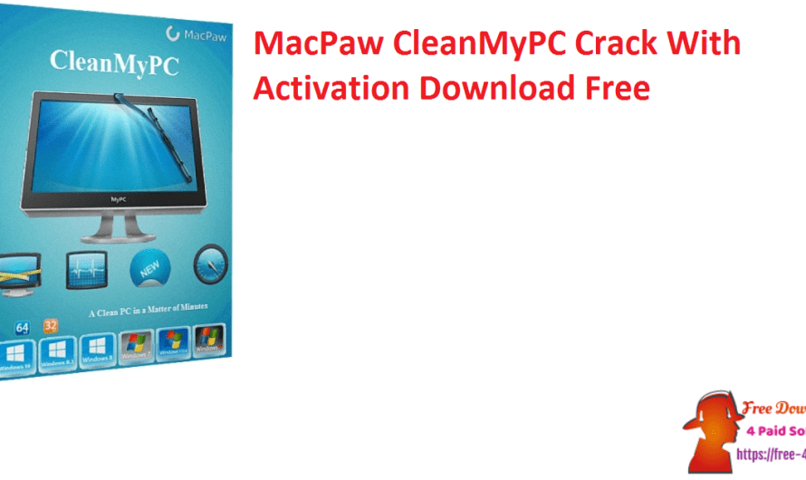 MacPaw CleanMyPC Crack 1.12.0.2113 With Activation Download Free
