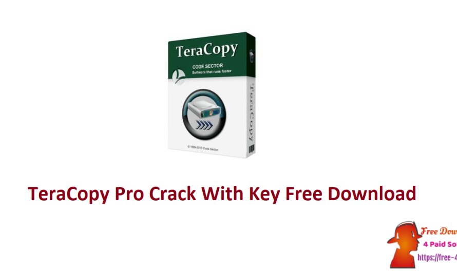 TeraCopy Pro 3.8.5 Crack + Key Free Download [Updated]