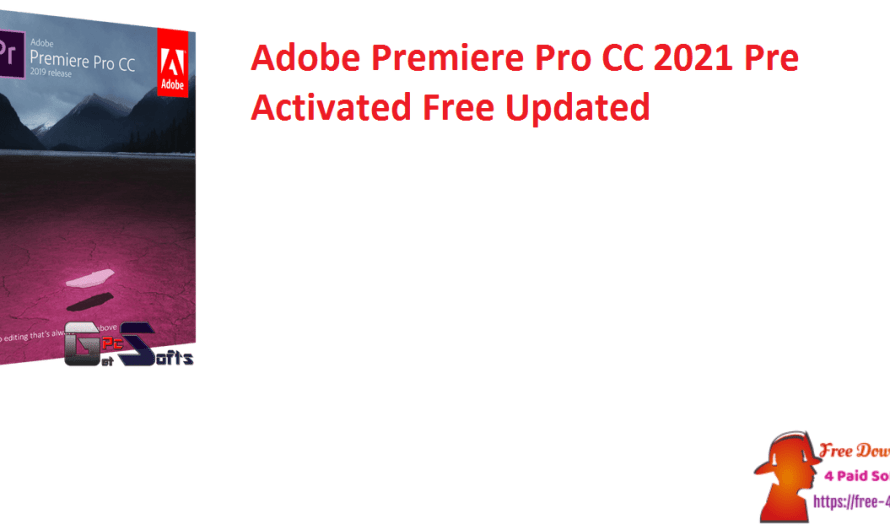 Adobe Premiere Pro CC 2021 V14.8.0.39 Pre-Activated Free [Updated]