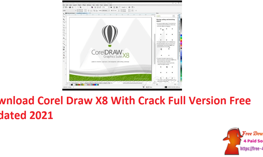 Download Corel Draw X8 Crack Full Version Free Updated 2021