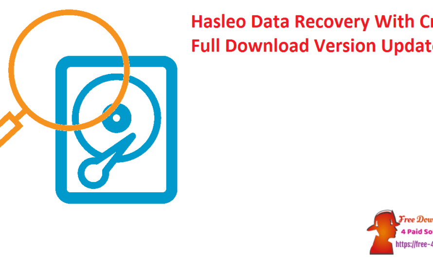 Hasleo Data Recovery 5.8 With Crack Full Download Version [Updated]