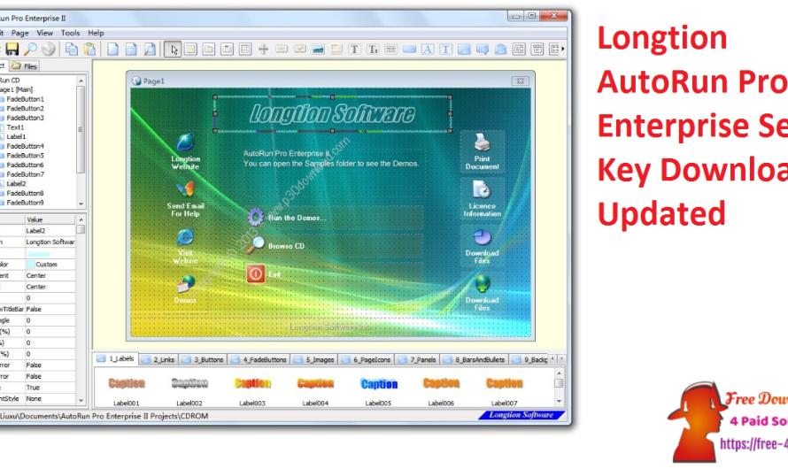 Longtion AutoRun Pro Enterprise 15.1.0.450 Crack  Download [2021]