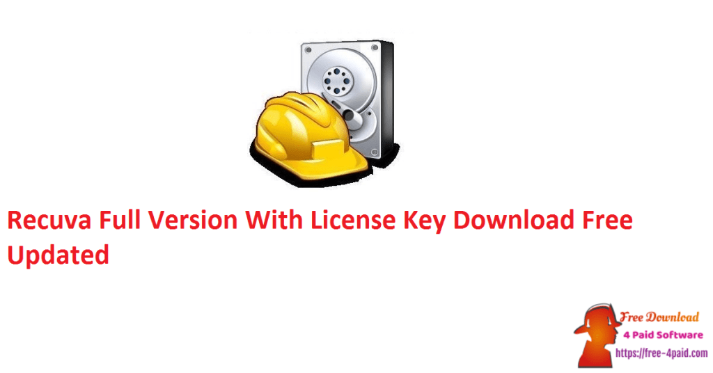 Recuva Full Version With License Key Download Free Updated
