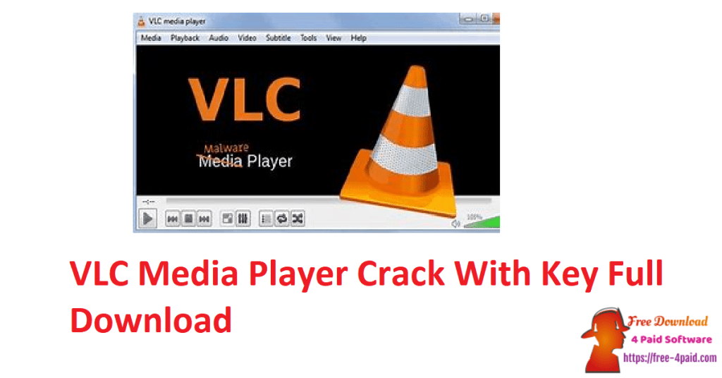 VLC Media Player Crack With Key Full Download