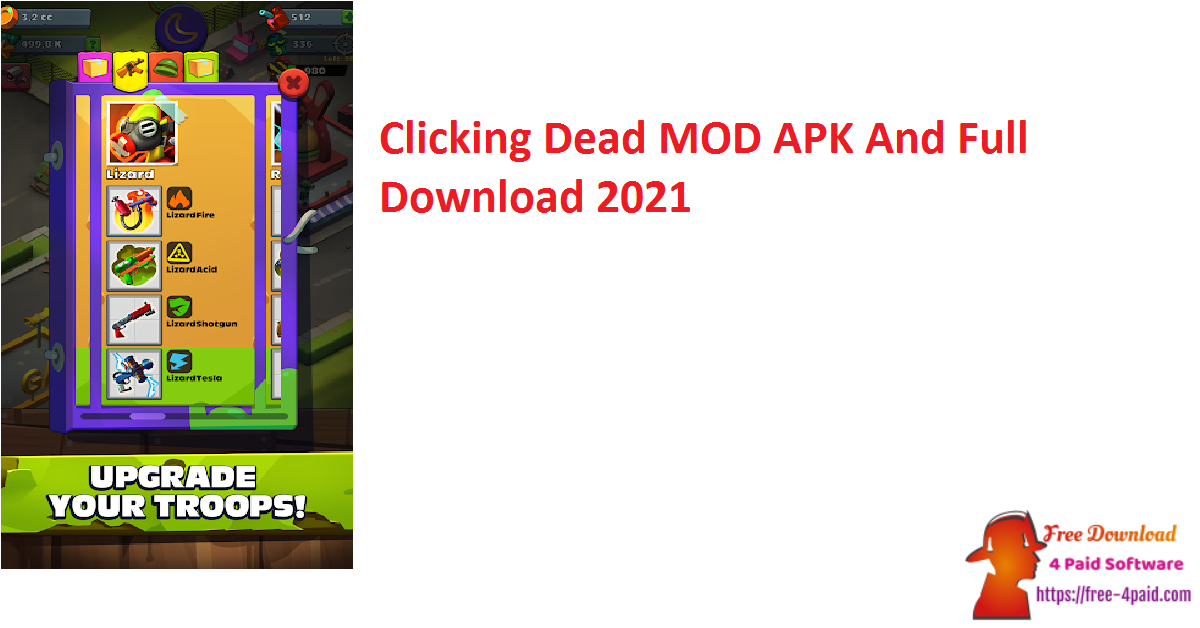 Clicking Dead MOD APK And Full Download 2021