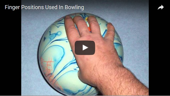 bowling finger positions video