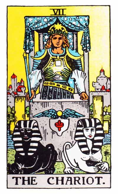 Tarot Chariot Card