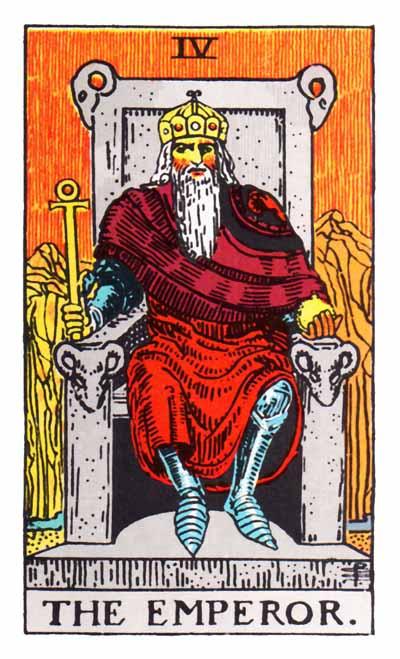 Tarot Emperor Card