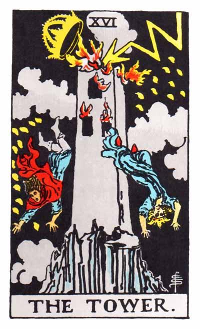 Tarot Tower Card