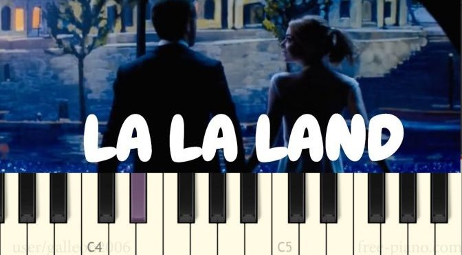 La La Land OST – Someone In The Crowd – Piano Tutorial
