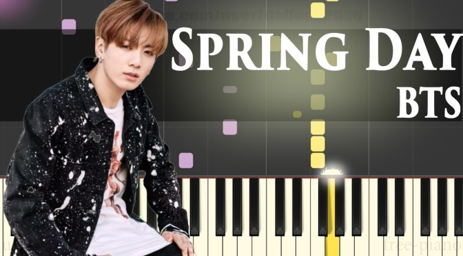 BTS '봄날 (Spring Day)' – Piano Tutorial – How To Play – Full Version