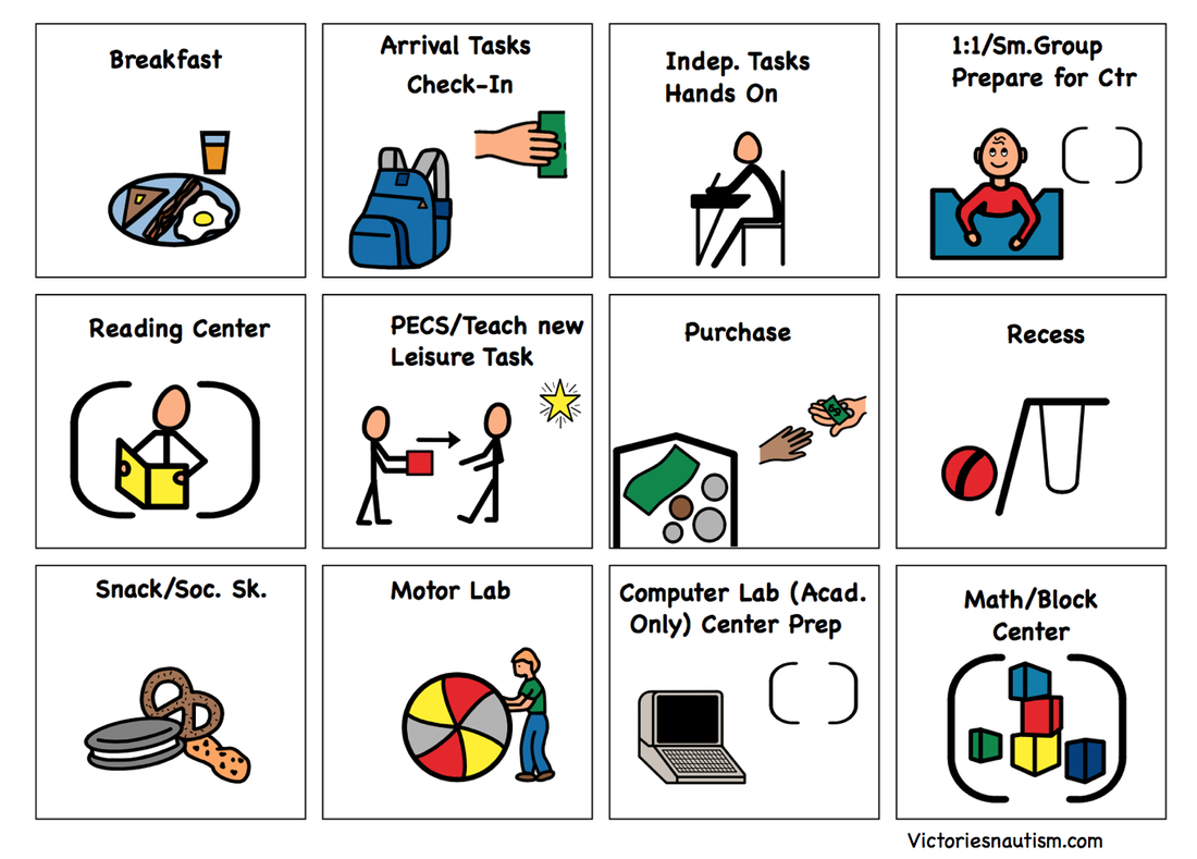 Free Printable Picture Communication Symbols