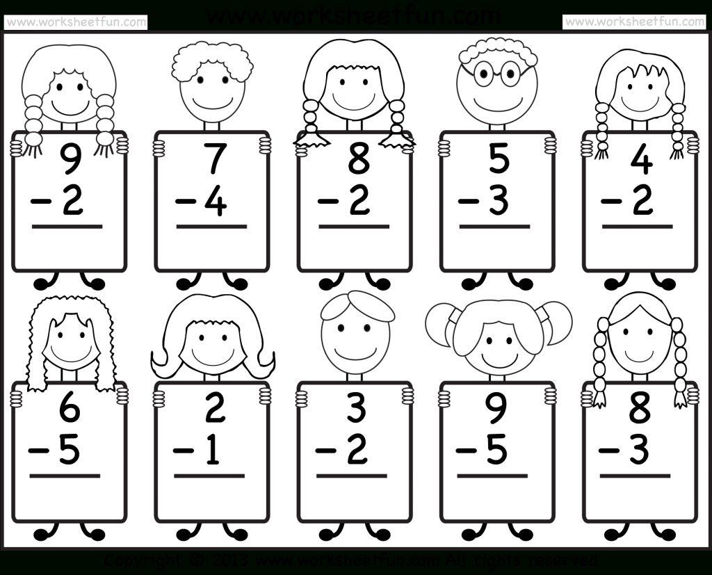 Beginner Subtraction 10 Kindergarten Subtraction