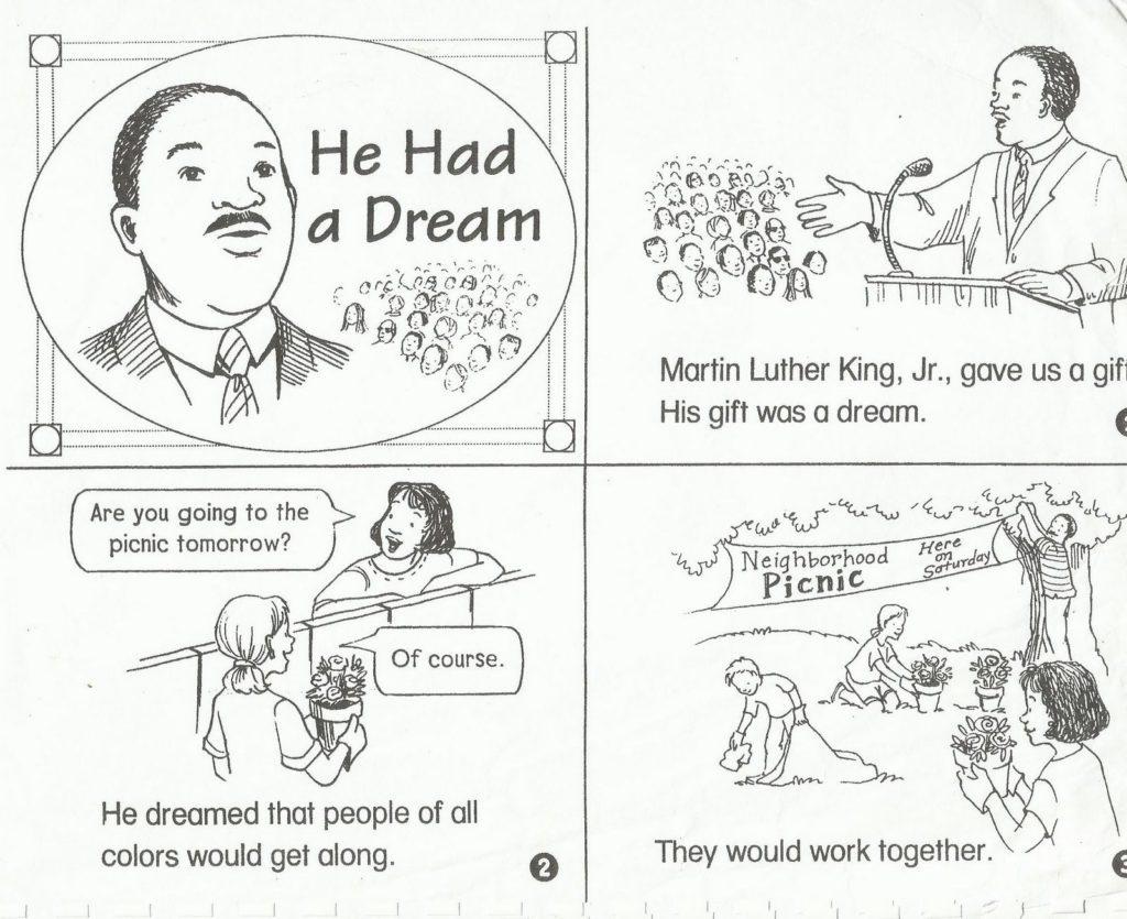 Free Printable Martin Luther King Jr Worksheets