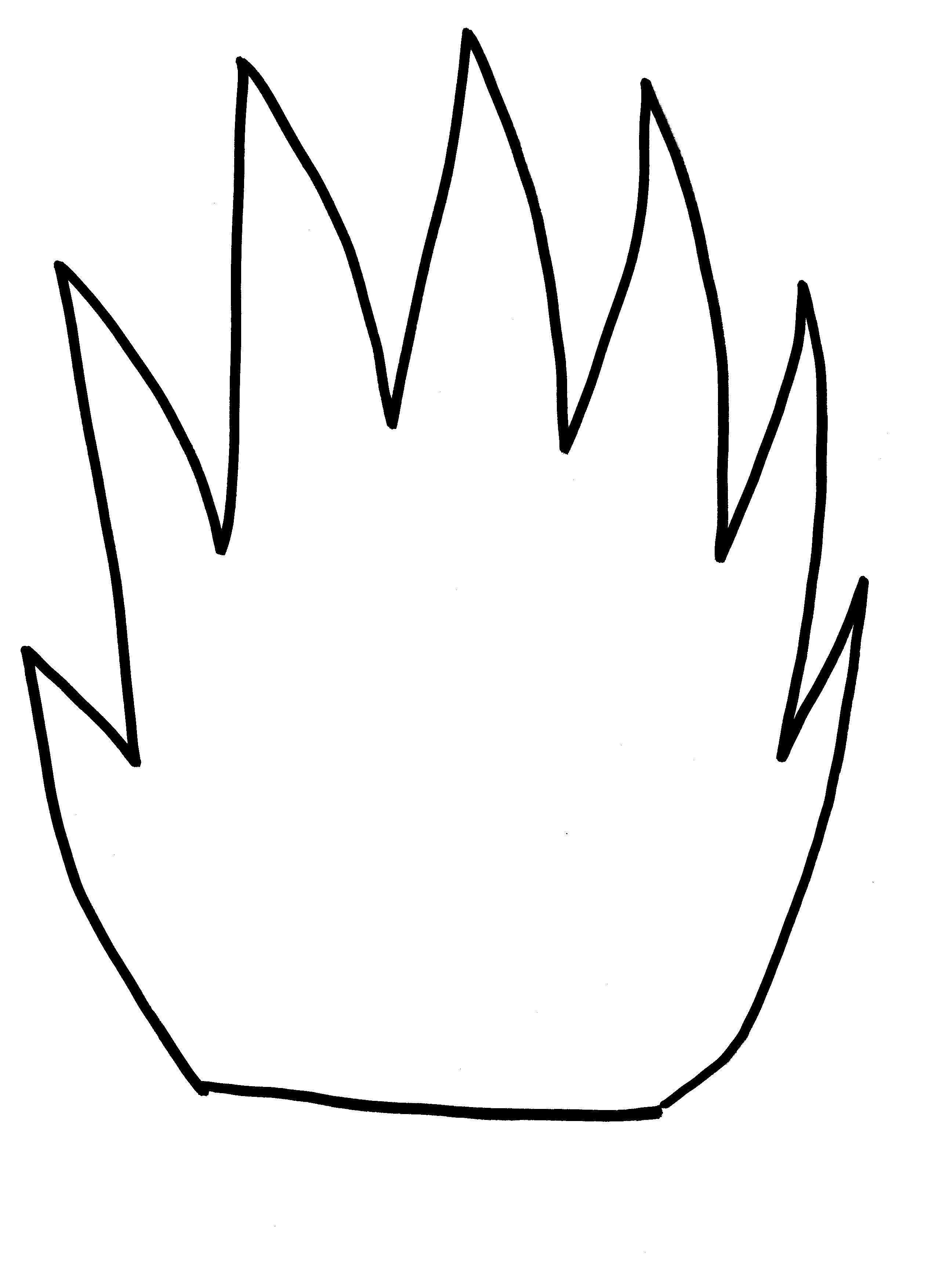 How To Draw Flames Fire 17 Free Printable Flames Stencils