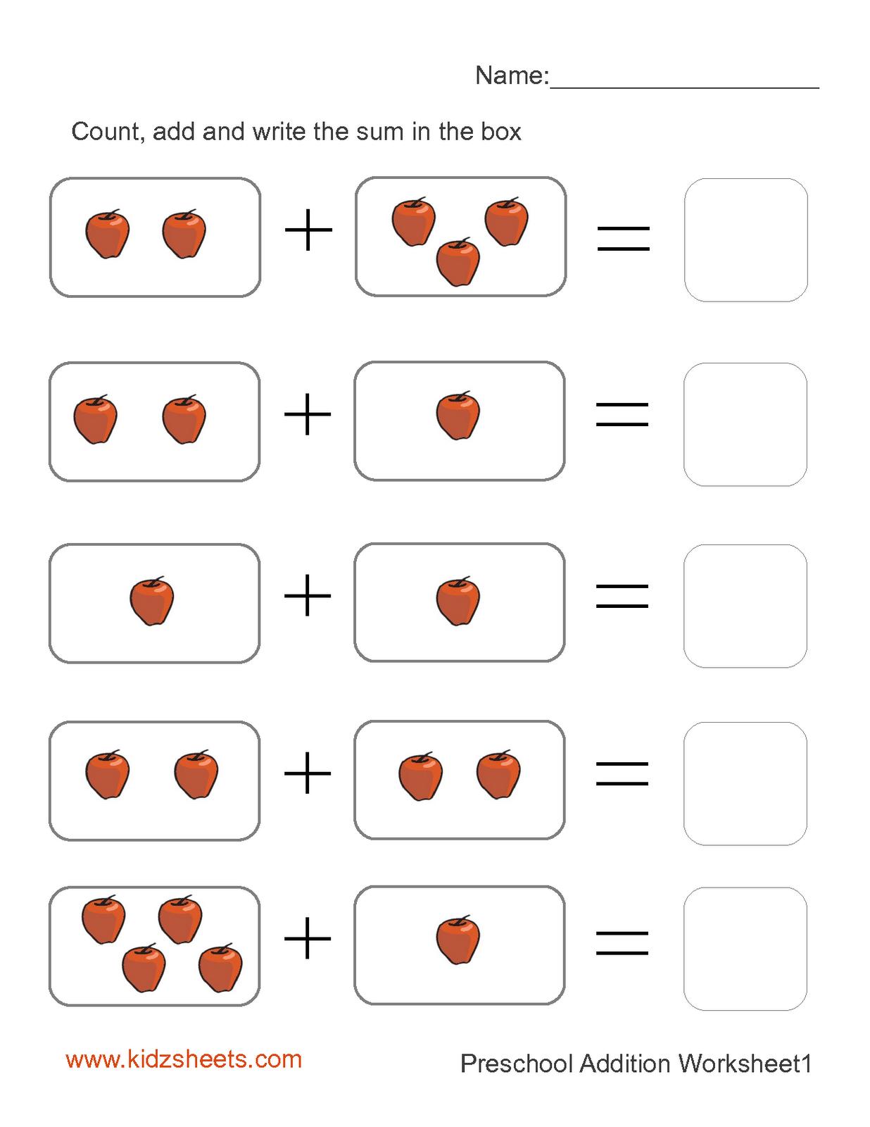 Free Printable Math Worksheets Kids Mental Maths