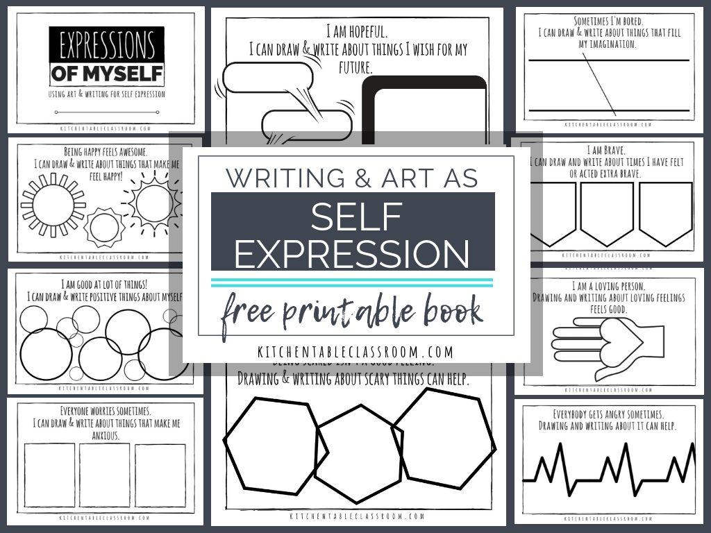 Self Expression Through Writing Amp Art Free Self Esteem