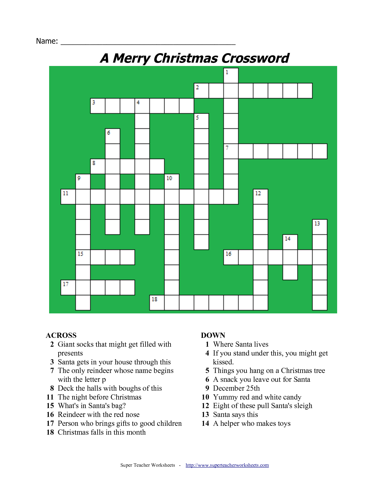 5 Images Of Free Printable Christmas Word Games