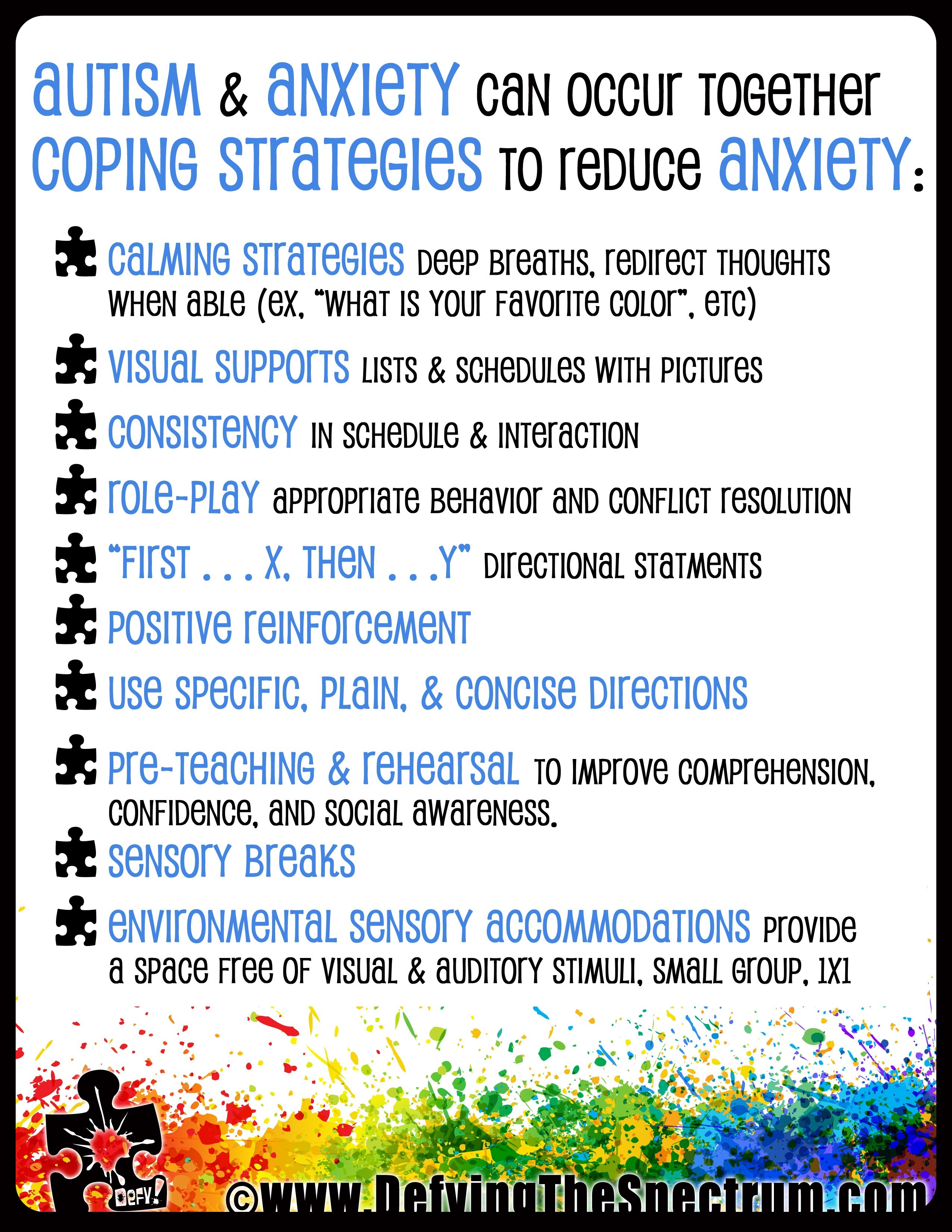 Free Printable Autism Awareness Posters